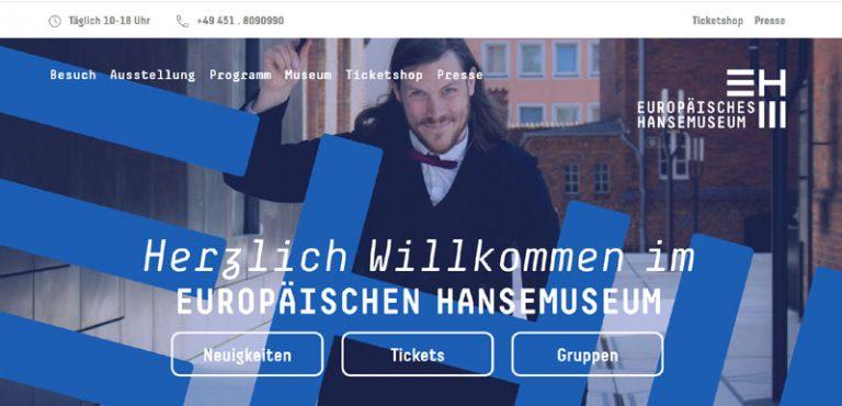 Web-Relaunch vollendet neues Corporate Design 11.06.2020 am Europäischen Hansemuseum