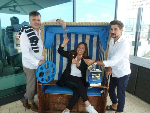 NICHT AKTUELL, war 2019! Kino unterm Ostseehimmel: Das Open Air-Kinoerlebnis am Travemünder Strand