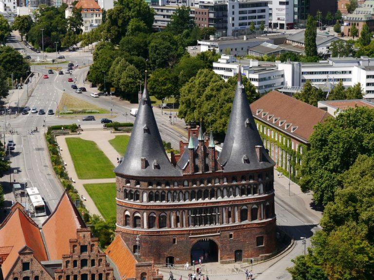 Fotogalerien Lübeck von oben