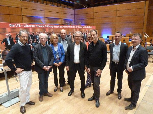 Lübecker Theater Stiftung fördert das Philharmonische Orchester der Hansestadt Lübeck mit 35.000 Euro