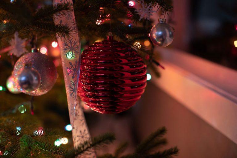 Beleuchtung in der Weihnachtszeit