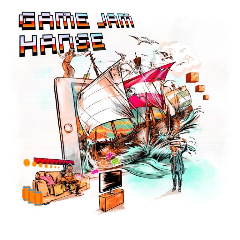 Europäisches Hansemuseum: »Game Jam Hanse«. Mehr als Koggen und Kaufleute