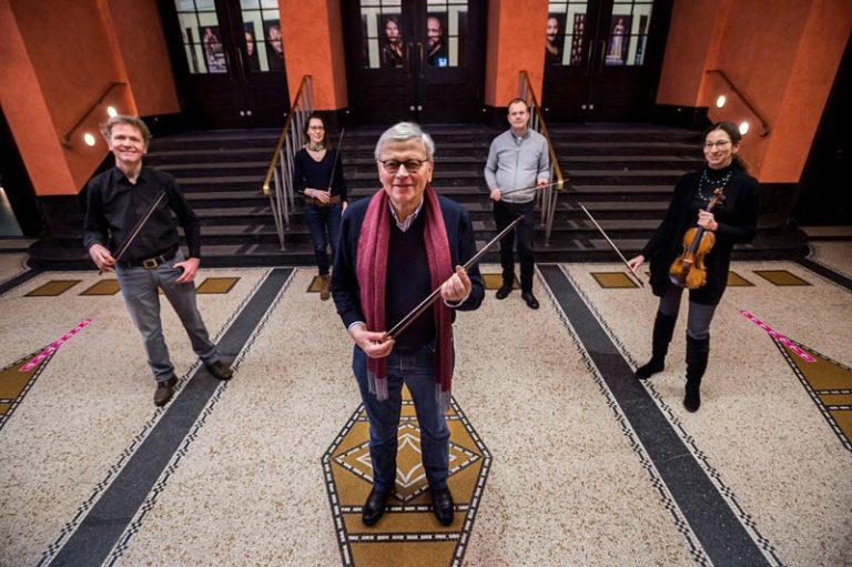 Die MOF – Musik- und Orchesterfreunde Lübeck e.V. fördern das Philharmonische Orchester mit 8.000 € für Barockbögen
