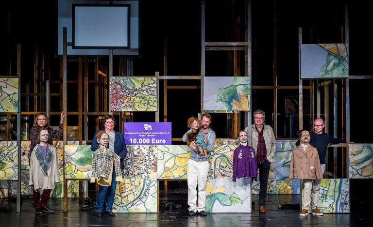 Die GTL – Gesellschaft der Theaterfreunde Lübeck fördert die Schauspielproduktion »Ghetto« mit 10.000 Euro